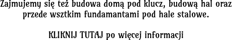 napis - budowa hal